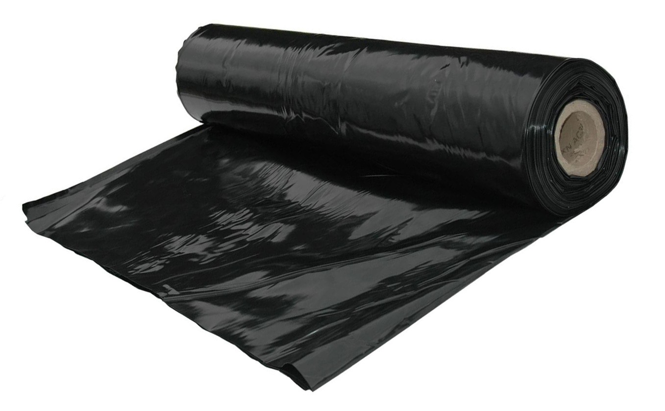 4m Wide 420g Black Polythene (per-metre)