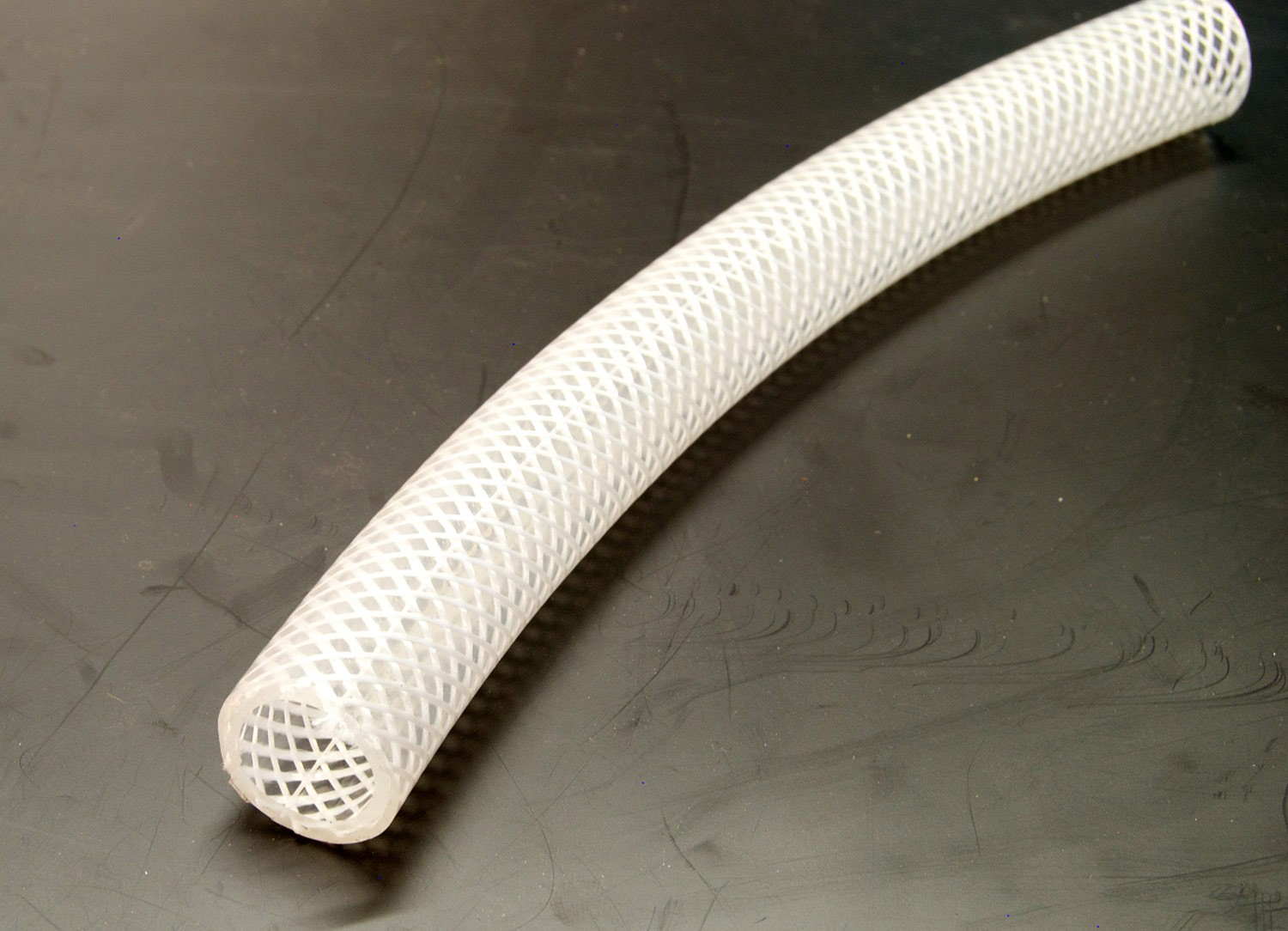 Clear Braided PVC tube 6 / 11mm (per metre)
