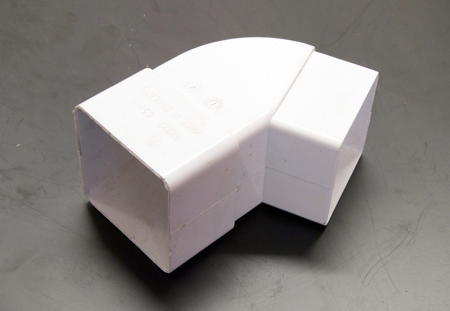 92.5 Degree Bend Square (White)