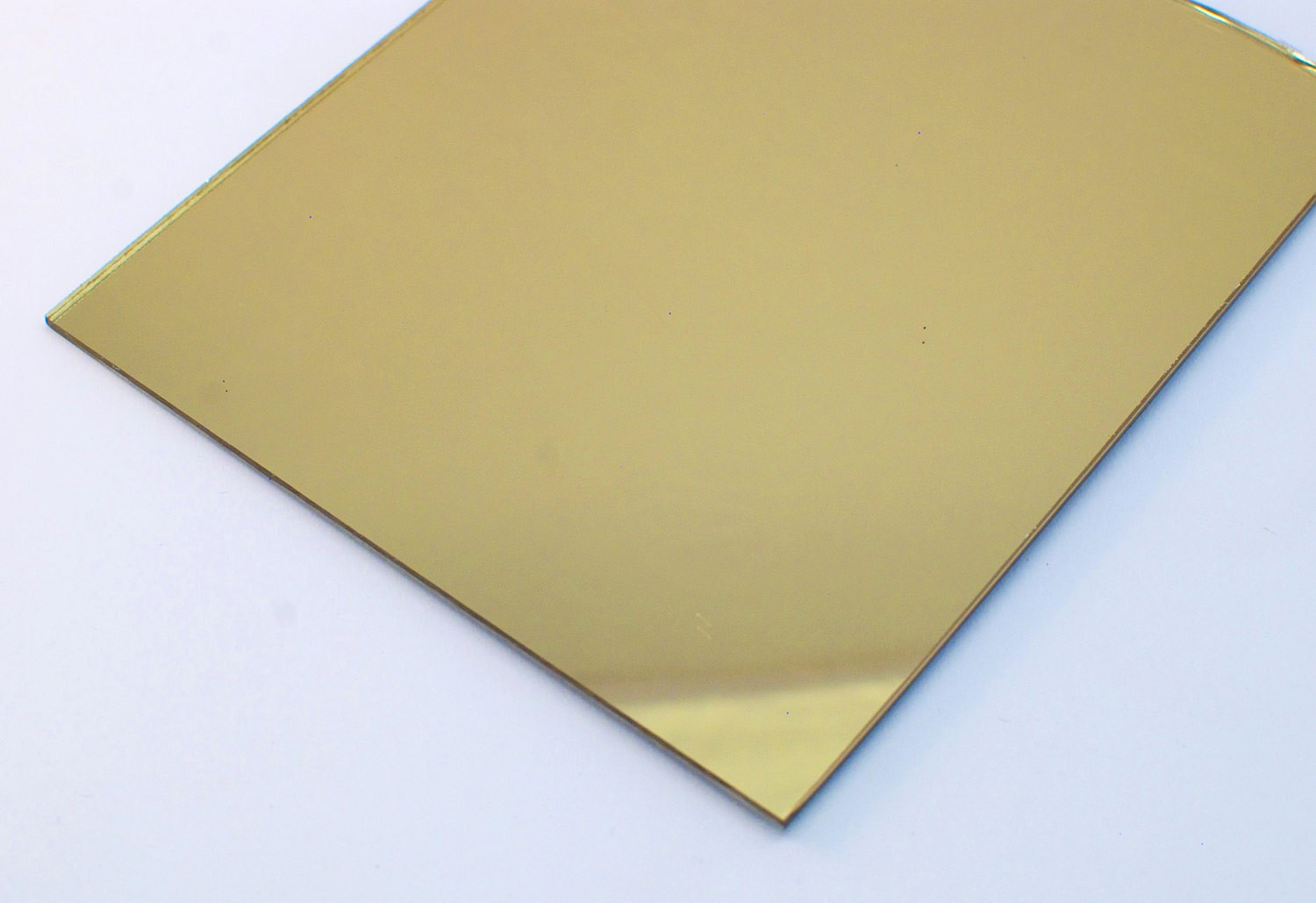 3mm Acrylic Gold Mirror Sheet