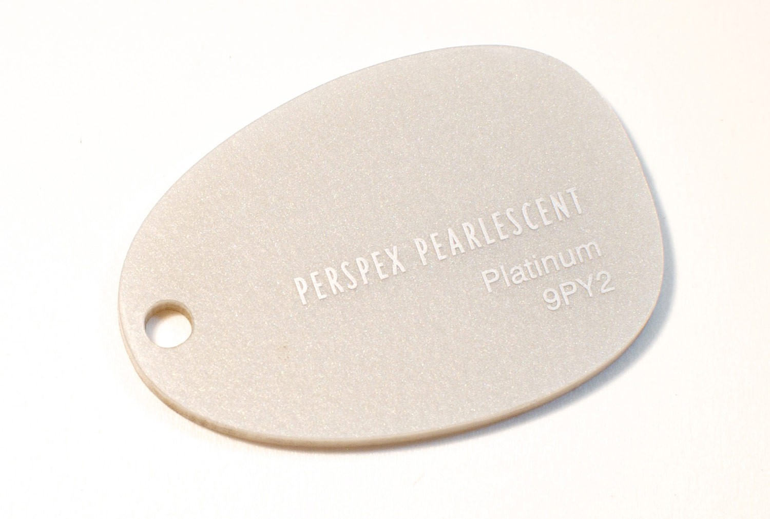 3mm Platinum Pearlescent Perspex Sheet