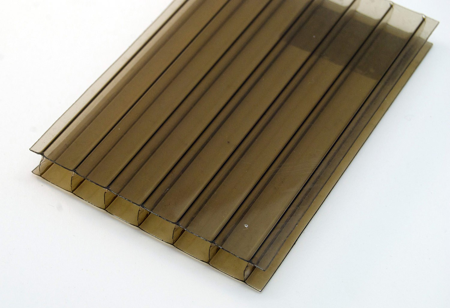 10mm Polycarbonate Twinwall (Bronze)