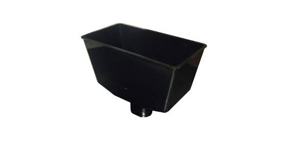 Hopper Black Square (Black)