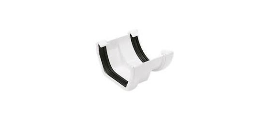 Square to Round Gutter Adaptor (White)