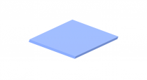 3mm Pastel Perspex Sheet Bubblegum Blue