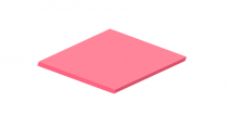 3mm Pastel Perspex Sheet Raspberry Sherbet
