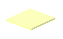 3mm Pastel Perspex Sheet Lemon Bonbon