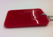 5mm Red Perspex Sheet (443)