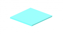 3mm Pastel Perspex Sheet Spearmint
